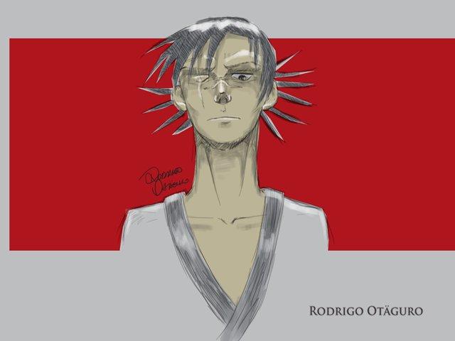 Fanart Blade - A lâmina do imortal. Personagem Manji, por Rodrigo Otäguro