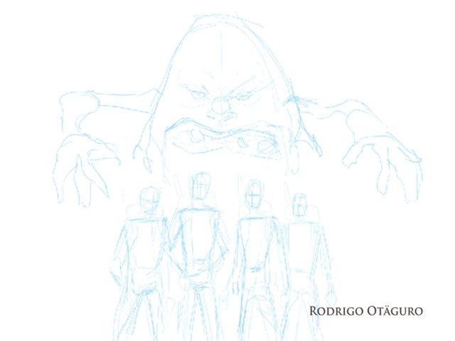 Ghostbusters fanart por Rodrigo Otäguro