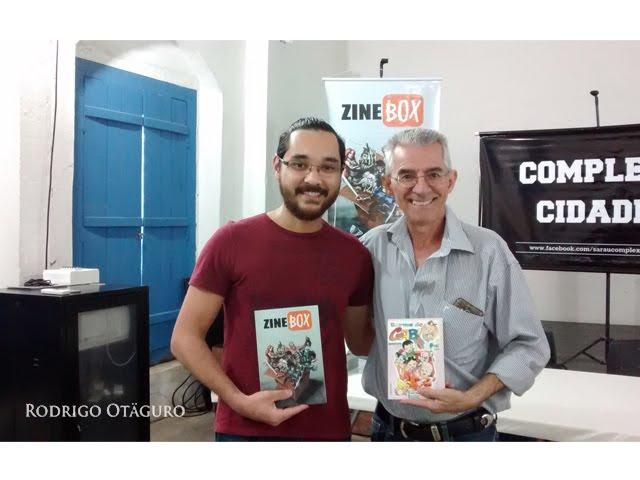 Rodrigo Otaguro e Moacir Torres