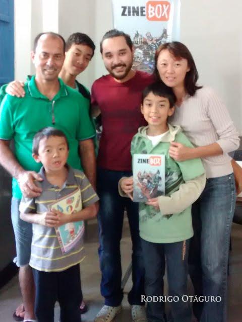 Rodrigo Otaguro e Família Otaguro Vieira
