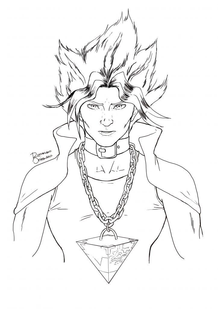 Desenhos - Yu-Gi-Oh_lineart