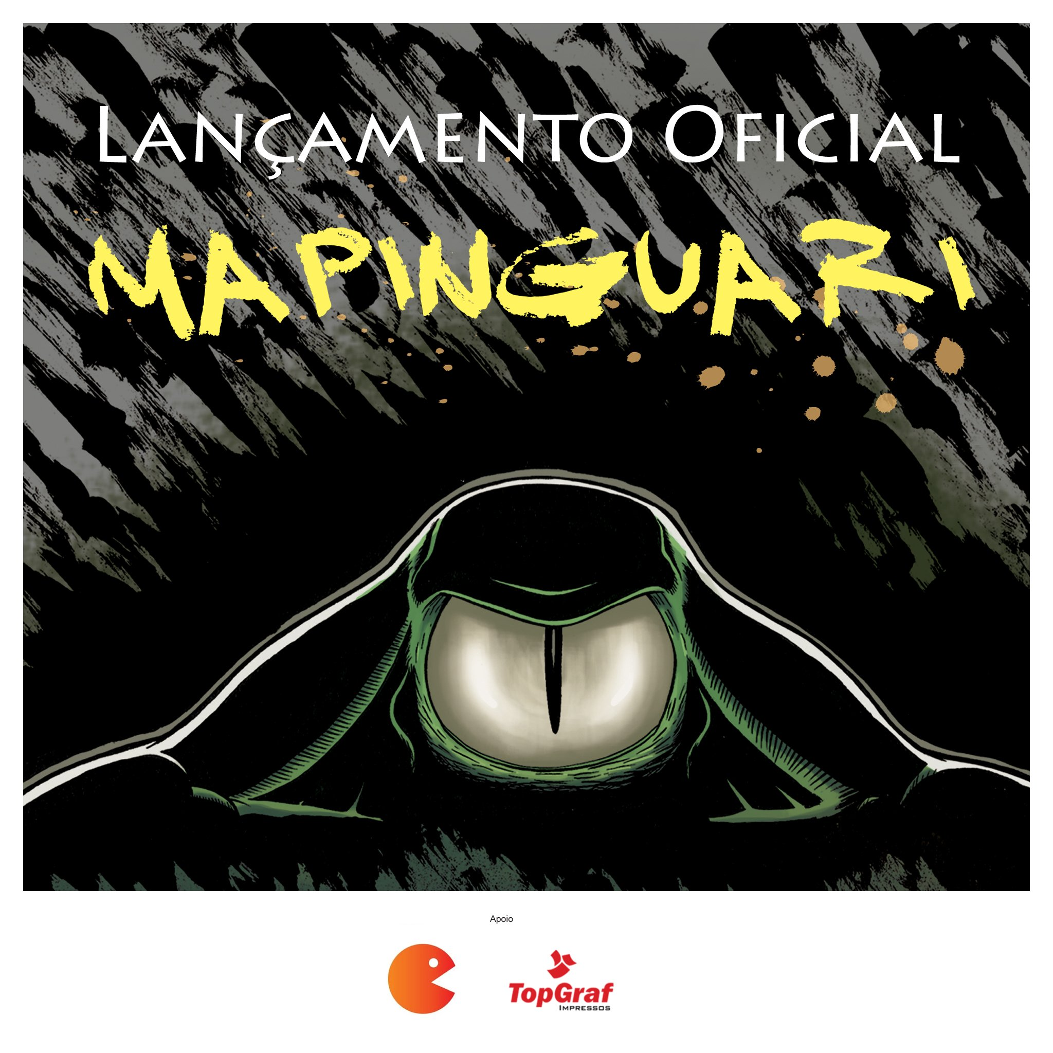 Imagem Lançamento Oficial HQ Mapinguari
