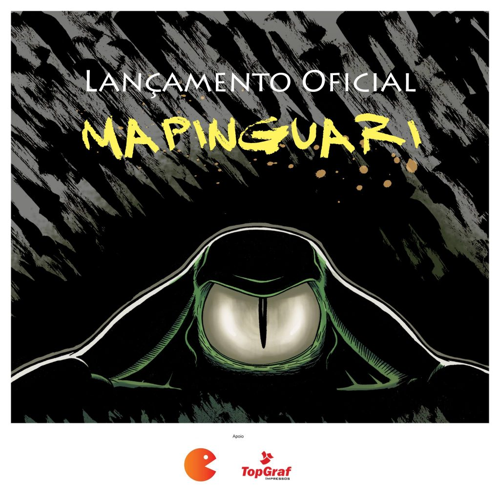 lançamento quadrinho mapinguari